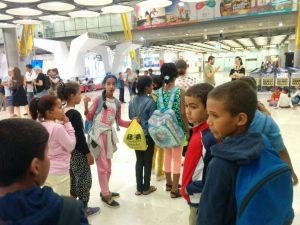 Vacaciones en Paz 2017: Llegada a Madrid