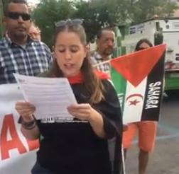 Femas: Concentración ante la Embajada de Marruecos @EmbajadadeMarru