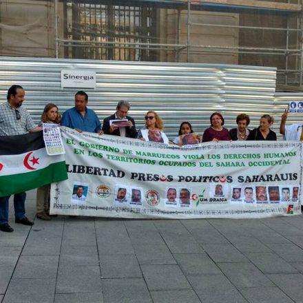 Concentración en Zaragoza contra el juicio-farsa presos Gdeim Izik