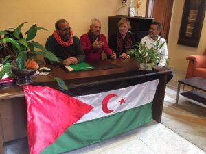 Observadores Internacionales de Galicia en Rabat (Gdeim Izik)