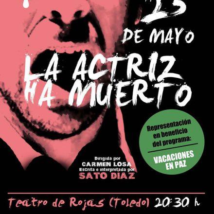 Obra de Teatro a beneficio de Vacaciones en Paz en el Teatro Rojas