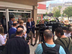 Visita del Vicepresidente de la Xunta de Galicia