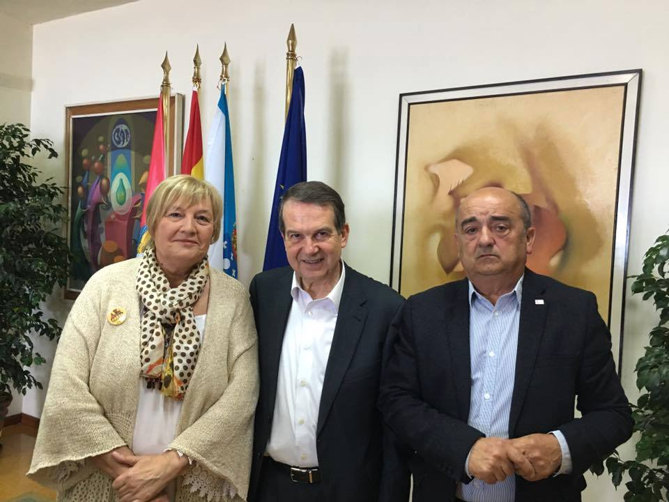 Firma de Convenio en el Concello de Vigo