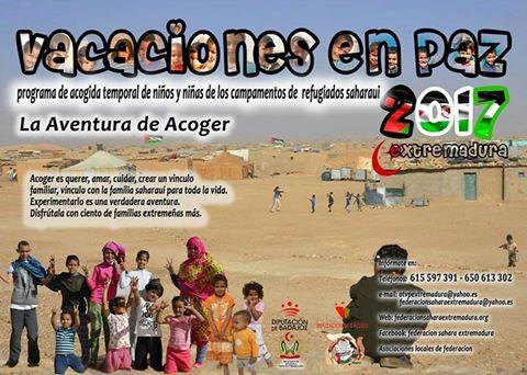 Extremadura: Vacaciones en Paz. Acoger es vivir una experiencia mágica