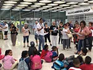 Femas: Llegada de los primeros niños y niñas saharauis a Madrid. ¡Bienvenid@s!