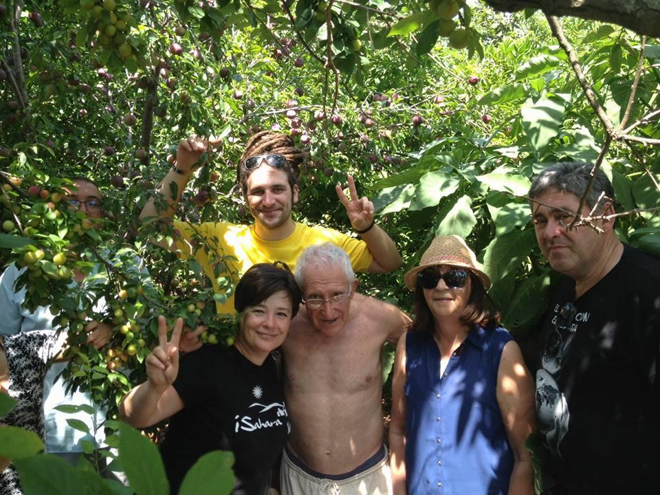 Albacete: Visita al bosque de alimentos en Alcira de Juan Antón