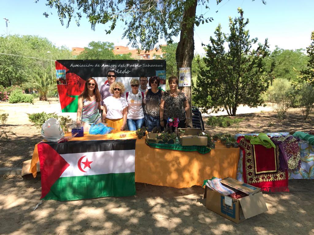 Participación de la Asoc. de Toledo en el Festival cultural CAZARES 2017