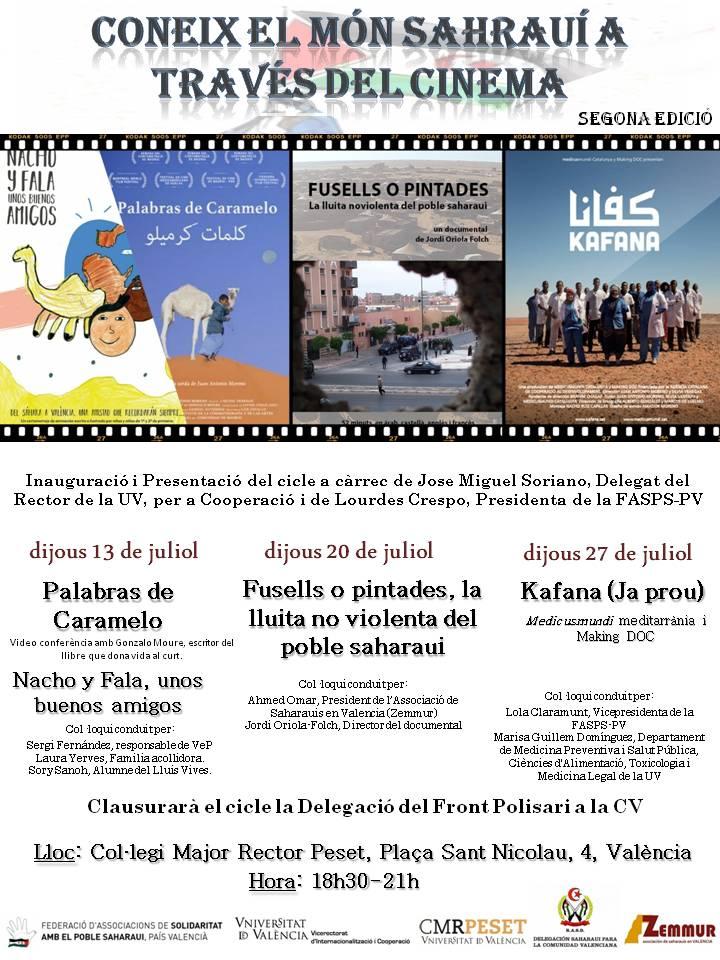 País Valencià: Coneix el món sahraui a través del cinema