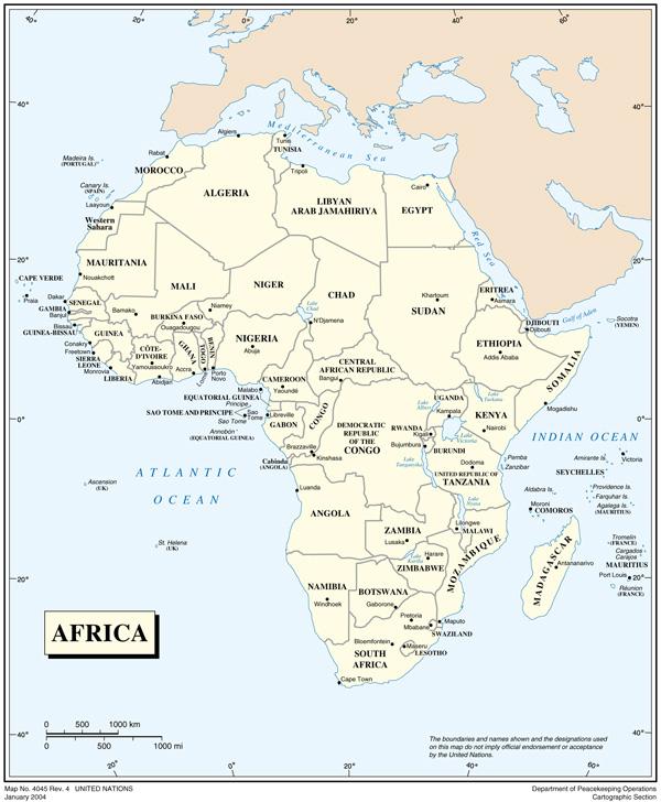Sahara Africa