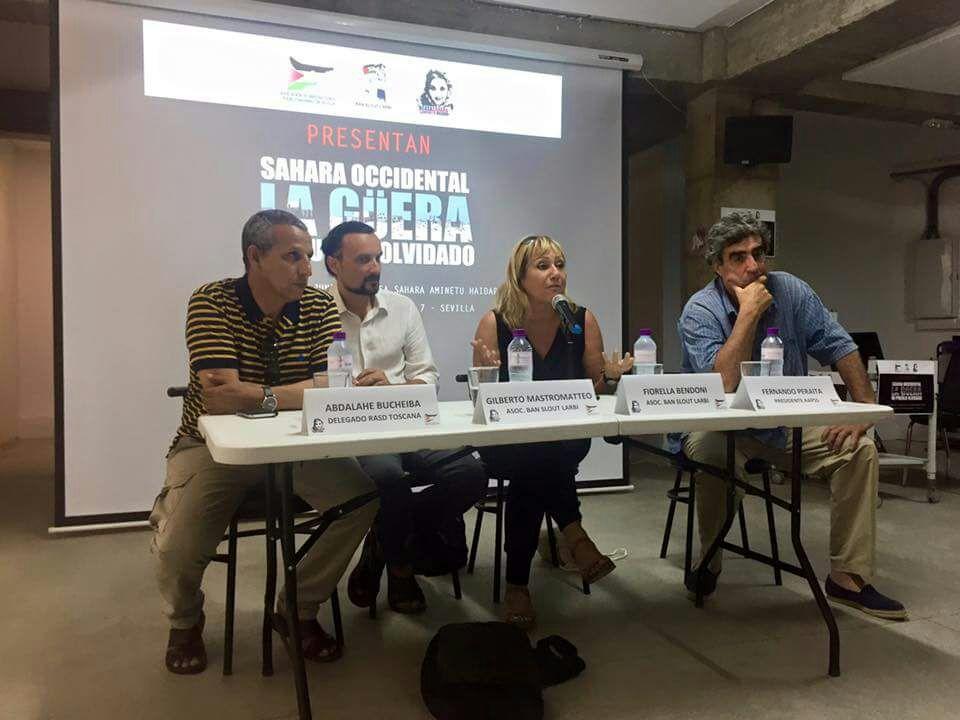 """Presentación del documental """"La Guera"""" Sevilla 1"""