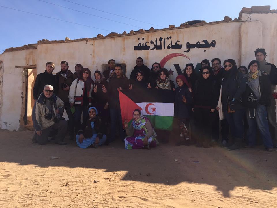 encuentro político de la juventud con el pueblo saharaui