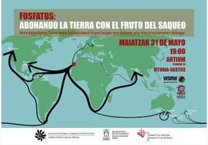 Erik Hagenek, WSRWen zuzendariak, Mendebaldeko Sahararen baliabideen espoliazioa aztetuko du Artiumen