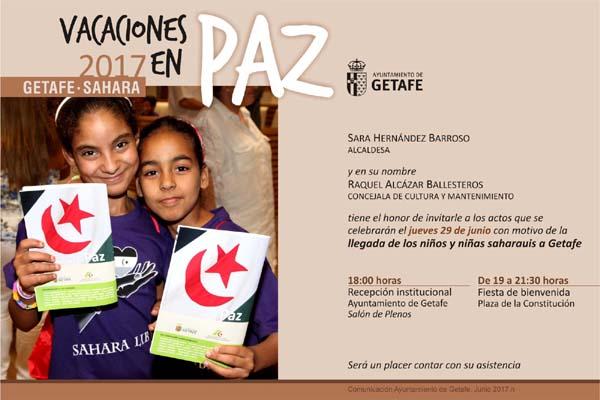 Femas: Bienvenida niñ@s saharauis en Getafe