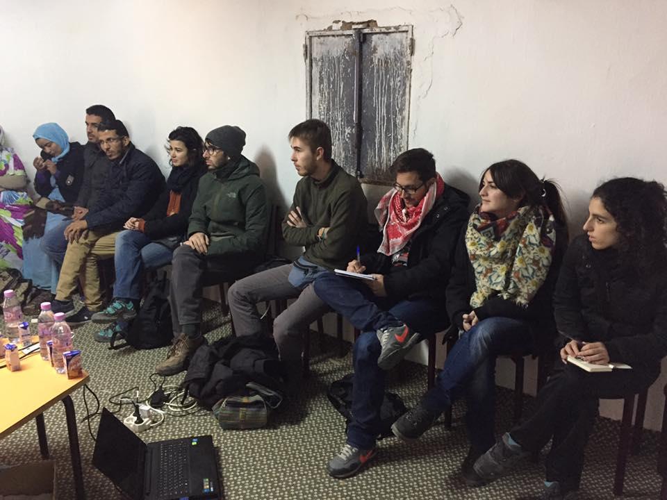 ceas sahara juventudes de partidos políticos