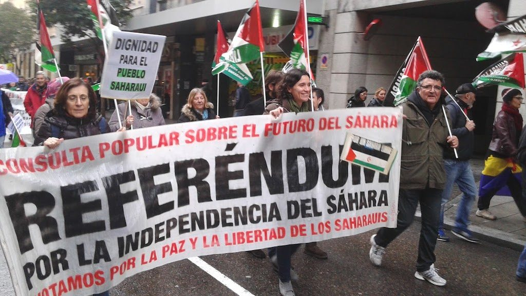 referéndum Sáhara_Marchas dignidad