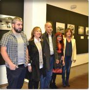 Andoni Lubakiren 'Sahara' argazki erakusketa estreinatu da Ignacio Aldecoa Kultur Etxean