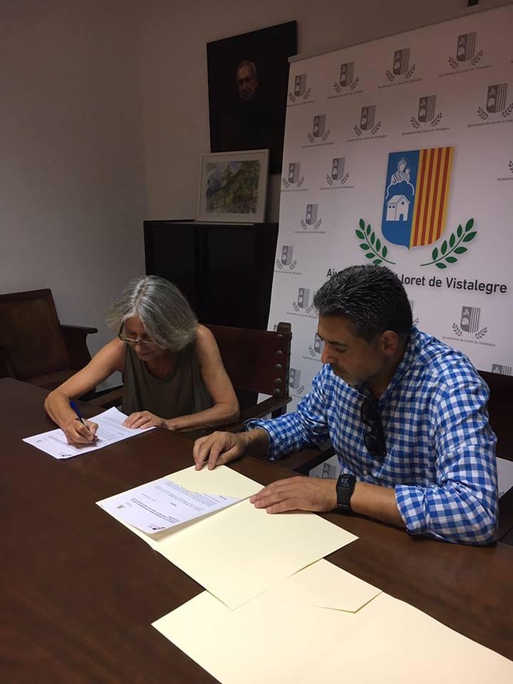 Baleares: Firma convenio entre el Ayuntamiento de Lloret y la Asociación de Amigos del Pueblo Saharaui Islas Baleares