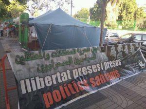 @FaspsPv Haima en suport: Llibertat per als presos polítics sahrauís (Xirivella – Juny 2017)