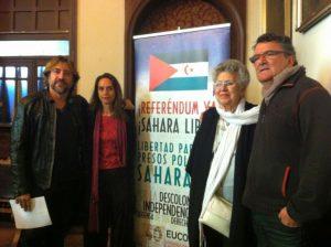 Pilar Bardem y el Sahara