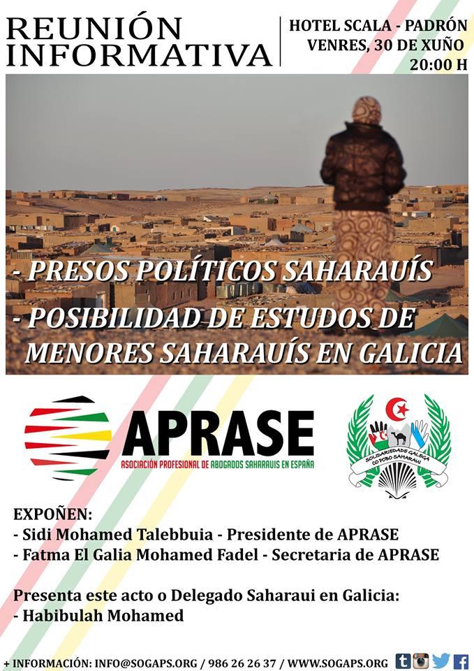 Galicia: SOGAPS charla informativa con APRASE