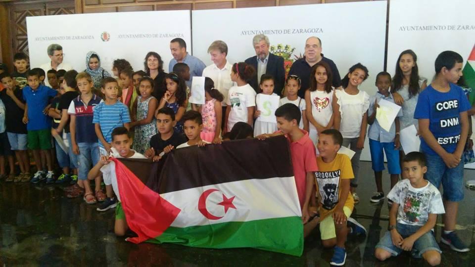 Aragón: Um Draiga visitas institucionales Vacaciones en Paz