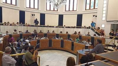 Alicante: Recepción en la Diputación  programa Vacaciones en Paz