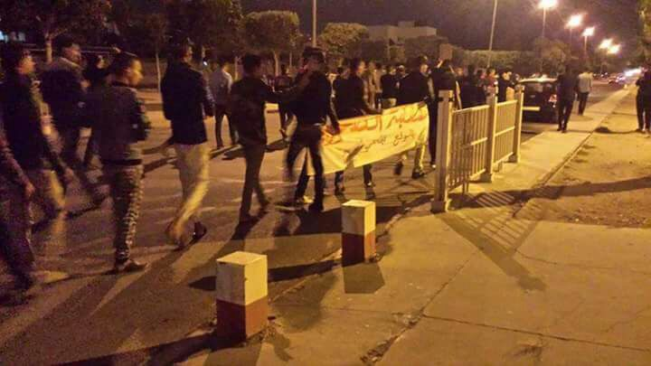 Agadir julio 2017 Sahara estudiantes presos