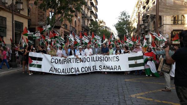 XXII Marcha por la Paz.Compartiendo ilusiones. Andalucía con el Sahara