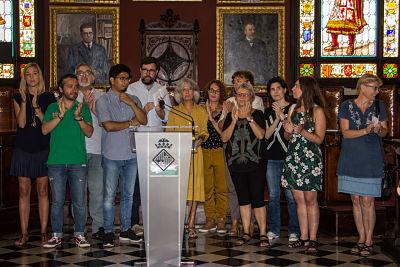 Vacaciones en Paz audiencia ajuntament de Palma