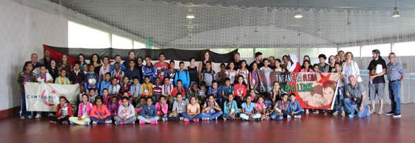Llega a Cantabria un segundo grupo de menores saharauis participantes en el Programa Vacaciones en Paz