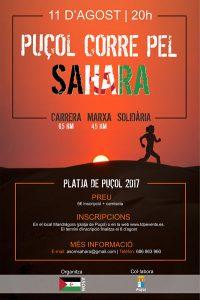 """I Cursa Solidaria / I Carrera Solidaria """"Puçol corre pel Sáhara"""""""