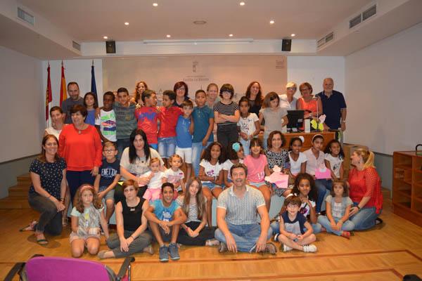 Despedida de las niñas y niños saharauis de la Asociación de Toledo
