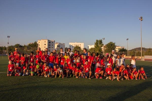 6º torneo de futbol programa vacaciones en Paz