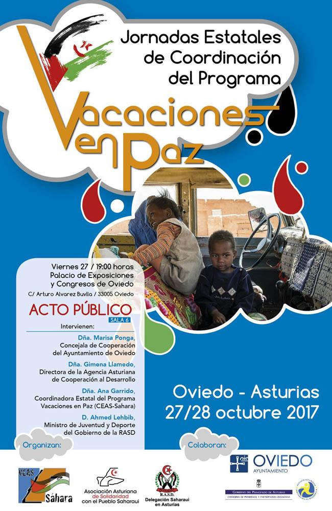 Jornadas Estatales de Coordinación del Programa Vacaciones en Paz 2017