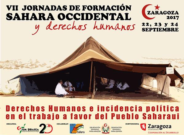 VII Jornadas de Formación de delegados y delegadas saharauis y de CEAS-Sahara en Zaragoza