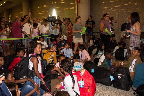 Baleares: Adiós a los pequeños embajadores y embajadoras del Pueblo Saharaui! Hasta el próximo año