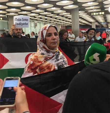 """Jadiyetu El Mohtar: """"Pensaba que iba a Perú y no a Marruecos"""""""
