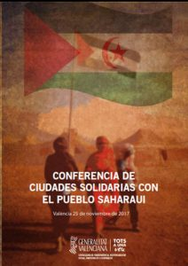 CONFERENCIA DE CIUDADES SOLIDARIAS CON EL PUEBLO SAHARAUI