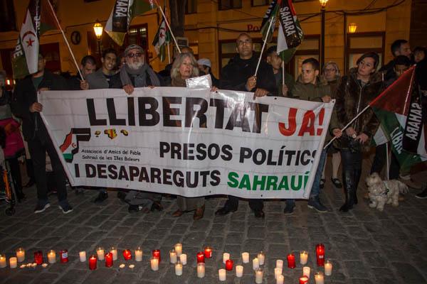 AAPSIB – Concentración para los presos políticos y desaparecidos saharauis
