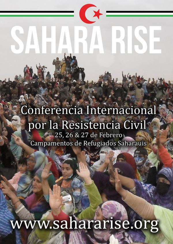 Conferencia Internacional de la resistencia civil Sáhara Rise del 25 al 27 de febrero