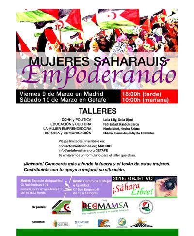 FEMAS – Getafe: Talleres de Mujeres Saharauis Empoderando