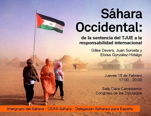 15F – SÁHARA OCCIDENTAL: De la sentencia del TJUE a la responsabilidad internacional