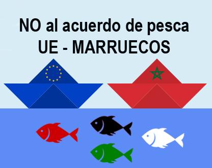 No al acuerdo de Pesca UE Marruecos