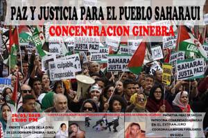 Próxima manifestación en Ginebra por los DDHH el 16 de marzo