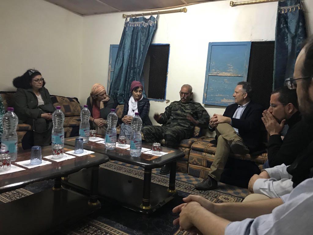 Informe visita de congresistas españoles a los campamentos de población refugiada saharaui y a los territorios liberados del Sahara Occidental