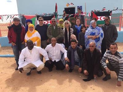 AAPSIB Viaje de una delegación a los Campamentos de refugiados
