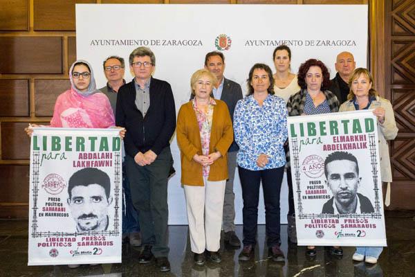 Um Draiga: La Comisión Informativa para el Sahara Occidental aborda el caso de la huelga de hambre de los presos de Gdeim Izik