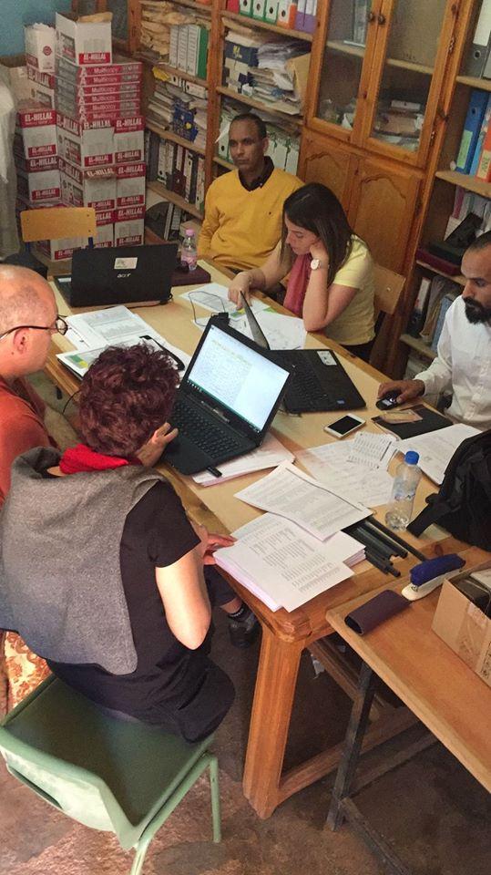 AAPSIB – Viaje a los campamentos para coordinar el programa Vacaciones en Paz 2018