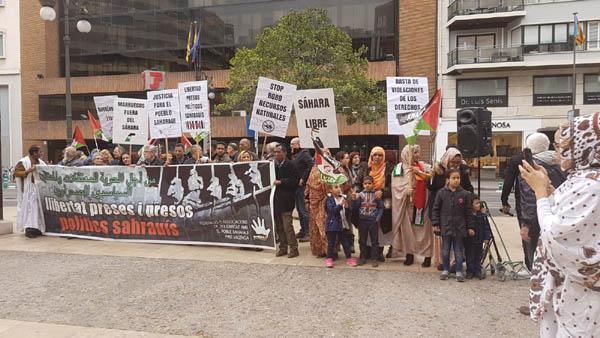 Valencia: Concentración presos políticos saharauis