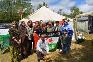 """La Asociación de Amigos del Pueblo Saharaui de Toledo participa en """"EL DÍA DEL VECINO"""""""